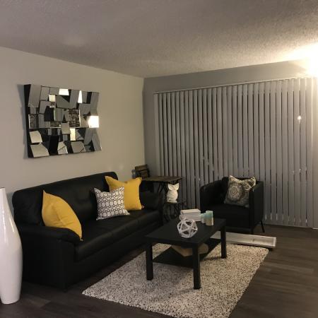 Spacious Living Area | Sacramento One Bedroom Apartments | The Confluence