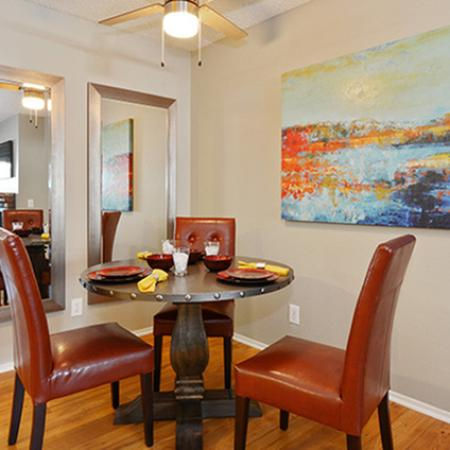Spacious Dining Room | Luxury Apartments Fresno | The Enclave