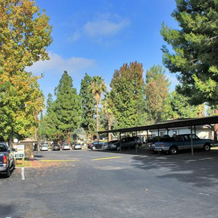 Resident Covered Parking | Luxury Apartments In Fresno Ca | The Enclave