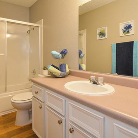 Spacious Master Bathroom | Apartments In Fresno Ca | The Enclave