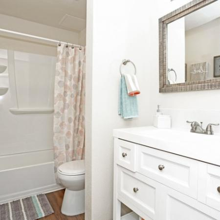 Spacious Bathroom | Apartments In Sacramento | Villa Regia