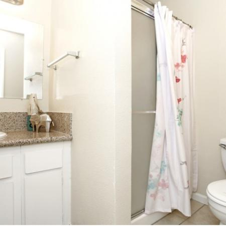 Ornate Bathroom | Sacramento Apartments | Villa Regia