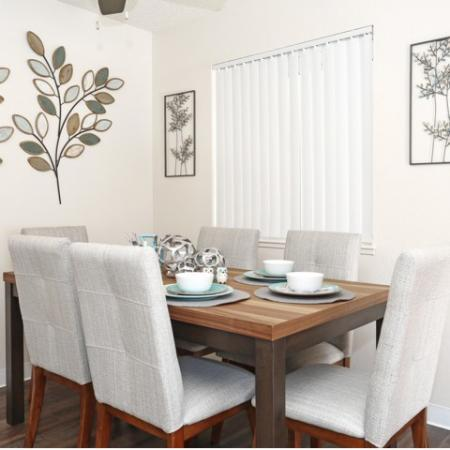 Spacious Dining Room | Sacramento Apartments | Villa Regia