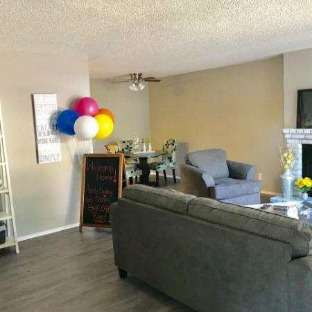 Large Living Room | Luxury Apartments Fresno | The Enclave
