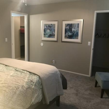 Large Master Bedroom | Luxury Apartments Fresno | The Enclave