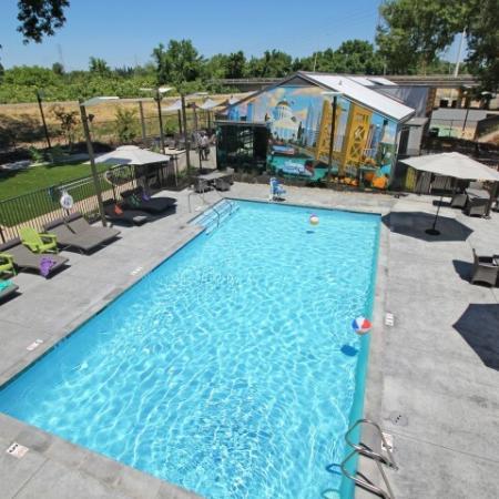 Luxury Swimming Pool | Apartments Near Sacramento State | University Village