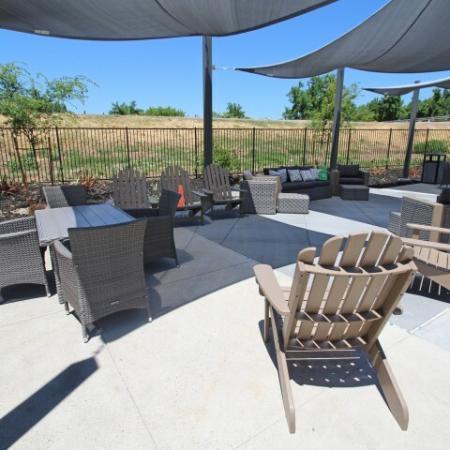 Resident Sun Deck | Apartments Near Sacramento State University | University Village
