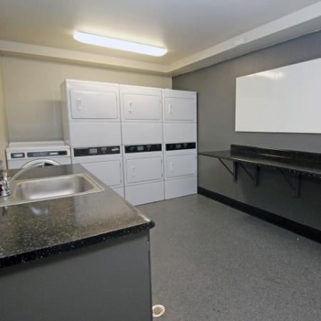 Resident Laundry Room | Sacramento State Apartments | University Village