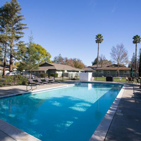 Sparkling Pool | Apartments for rent in Davis, CA | Cottages on 5th