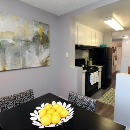 Luxurious Dining Room | Apartments Near Sacramento State | University Village