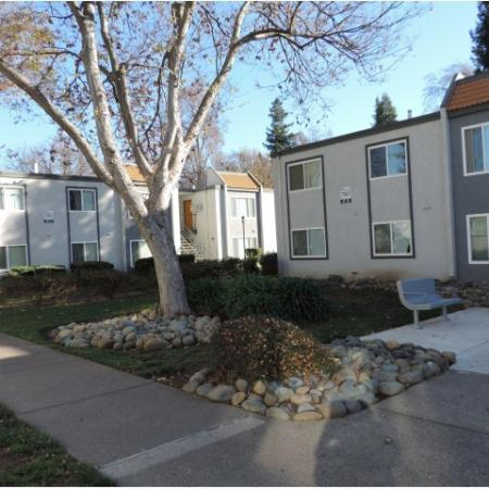Fenced-in Courtyard | Apartments Near Sacramento State | University Village