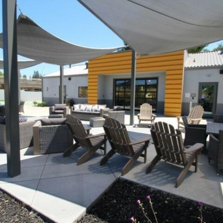 Community BBQ Grills | Apartments Near Sacramento State University | University Village
