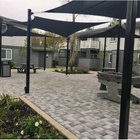 Resident Foosball Table | Sacramento State Apartments | University Village