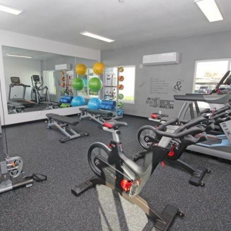 State-of-the-Art Fitness Center   1 Bedroom Apartments Sacramento Ca   The Confluence