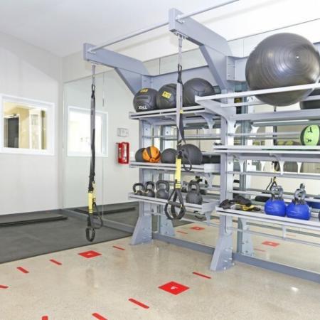 Resident Fitness Center   Sacramento State Apartments   University Village