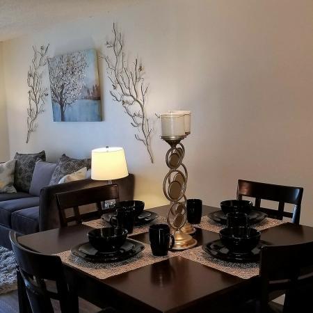 Elegant Dining Room | Bakersfield CA Apartments For Rent |