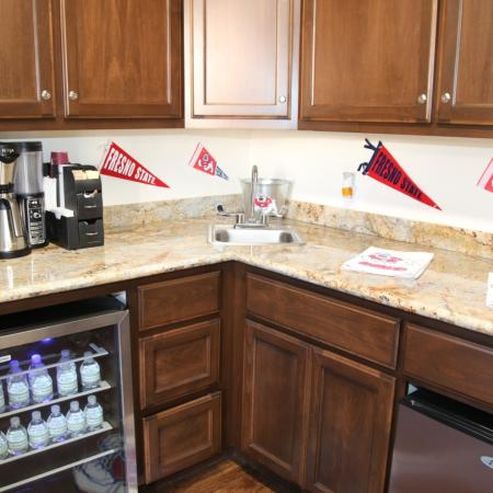 Resident Coffee Bar | Apartments in Fresno, CA |