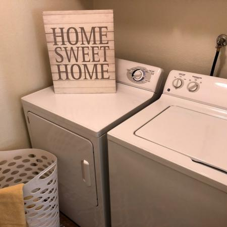 In-home Laundry  | Apartments Homes for rent in Fresno, CA |