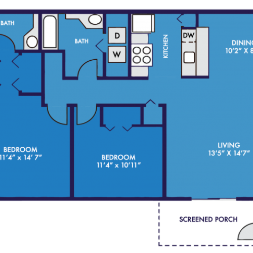 TheRiverApartments_Shoals_2x2_1044sqft