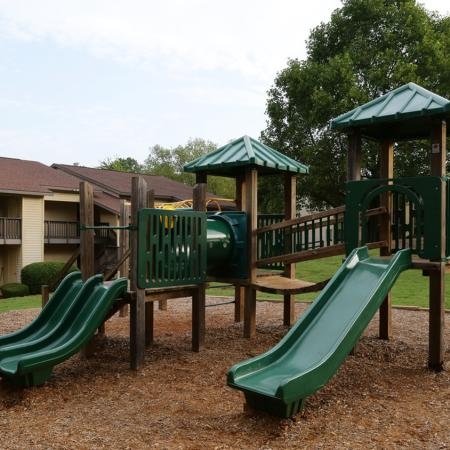 Cameron Crossing: playground with slides