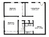 2 Bedroom, 1008 sq ft