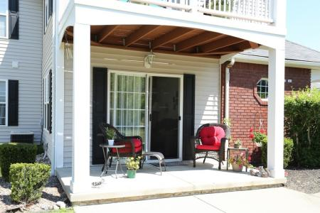 Private Balconies at our East Amherst Apartments
