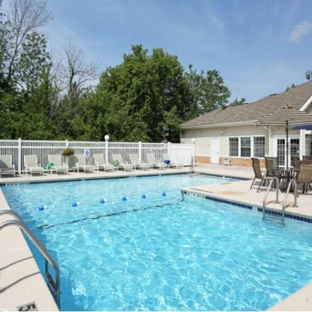 Williamsville NY apartments | heated swimming pool