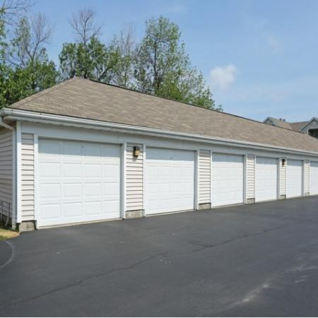 Williamsville Apartments | Private garage and storage spaces