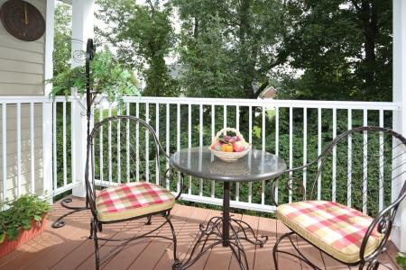 Balcony or Patio at Williamsville NY for rent | StoneGate Apartment Homes