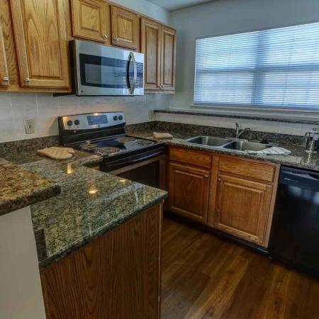 Kitchen Area | Windsong Place Apartments