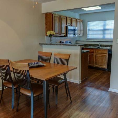 Eating Area in our 2 Bedroom | Windsong Place Apartments