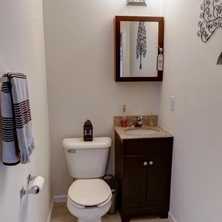 Ornate Bathroom | Luxury Apartments Buffalo | Autumn Creek Apartments