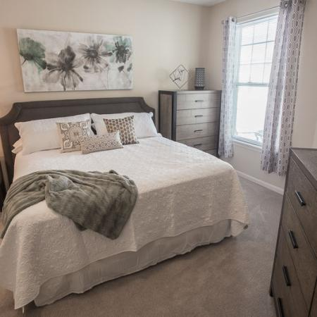 Luxurious Master Bedroom | Apartments In Williamsville Ny | Renaissance Place Apartments