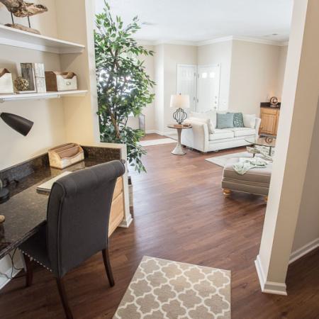 Elegant Living Room | Williamsville Apartments | Renaissance Place Apartments