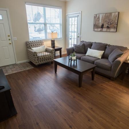 Luxurious Living Room | Williamsville New York Apartments for Rent | Renaissance Place Apartments