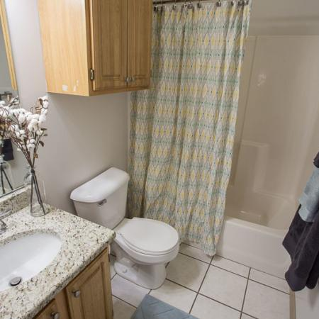 Ornate Bathroom | Apartments in Williamsville | Renaissance Place Apartments