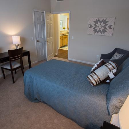 Elegant Bedroom | Apartment Homes In Williamsville | Renaissance Place Apartments