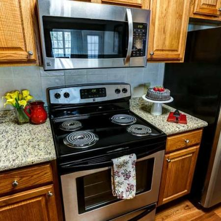 Modern Kitchen | Apartment Homes In Buffalo | Windsong Place Apartments