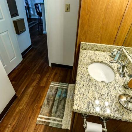 Spacious Bathroom | Apartment Homes In Buffalo | Windsong Place Apartments