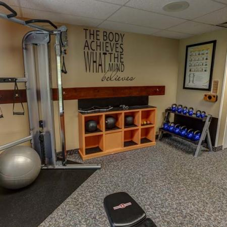 Windsong Place Apartments | Weight Room