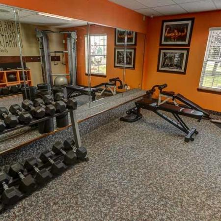 Cutting Edge Fitness Center | Buffalo New York Apartments | Windsong Place Apartments