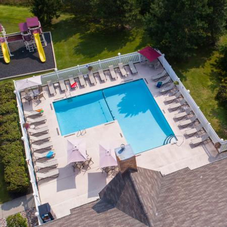Resort Style Pool | Apartments in Buffalo | Windsong Place Apartments