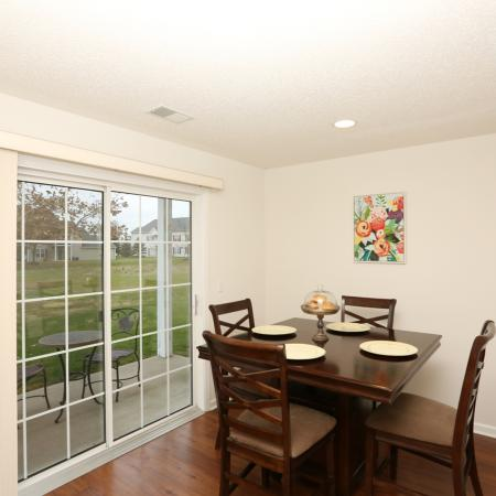 Spacious Dining Room | Apartments in Williamsville | StoneGate Apartment Homes