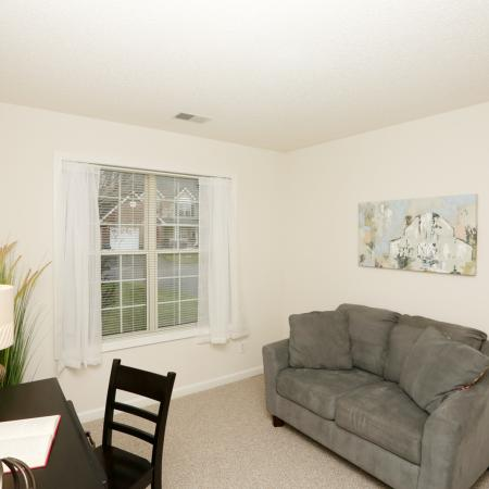 Spacious Den | Williamsville Apartments | StoneGate Apartment Homes