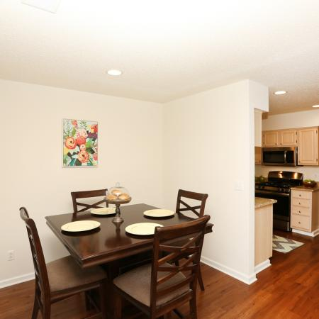 Elegant Dining Room | Williamsville Apartments | StoneGate Apartment Homes