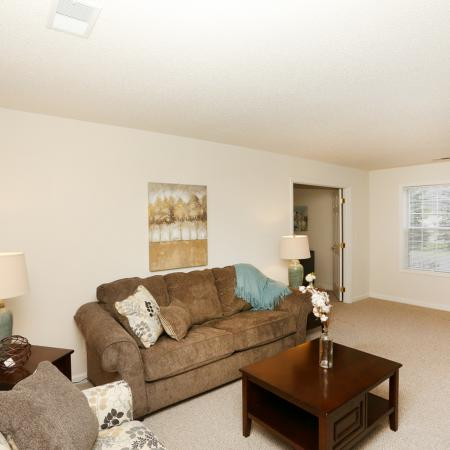 Spacious Living Room | Apartments in SAN ANTONIO | The Mansions at Briggs Ranch