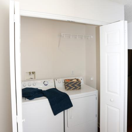 In-home Laundry| Williamsville New York Apartments | StoneGate Apartment Homes