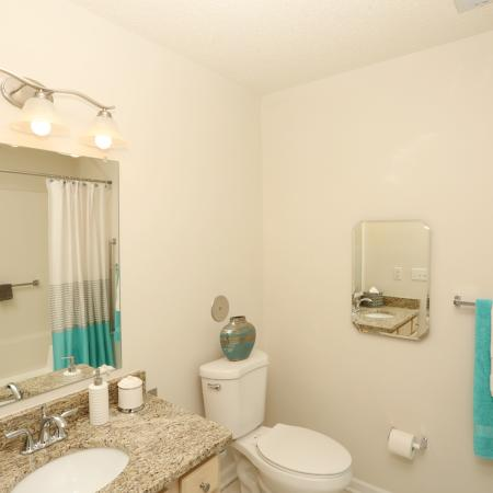 Spacious Bathroom | Apartment Homes In Williamsville | StoneGate Apartment Homes
