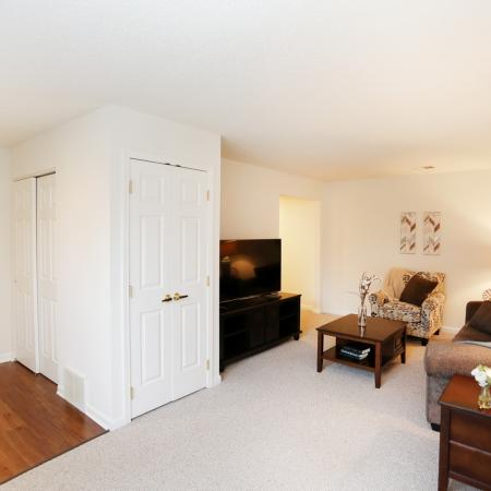 Spacious Living Area | Williamsville New York Apartments | StoneGate Apartment Homes