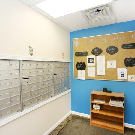 Mail Area | Apartment Homes In Williamsville | StoneGate Apartment Homes